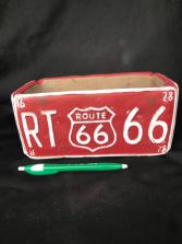 Route 66 Pot Ceramic Pottery