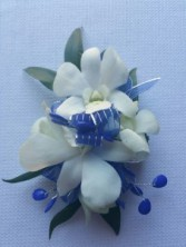 ROYAL BLUE CORSAGE