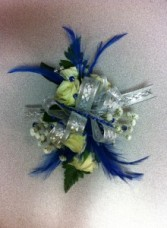 Royal Blue Dream Corsage