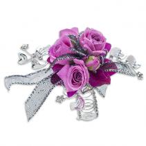 Royal Empress Wrist Corsage