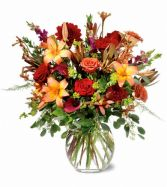 Royal Garden Fall Arrangement