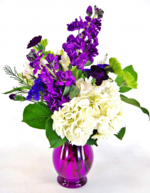 Royal Purple  Flower Arrangement