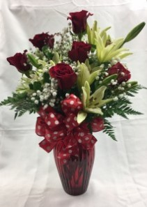 Royal Red Arrangement