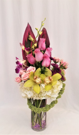 Royal Romance Arrangement in Boca Raton, FL | Flowers of Boca