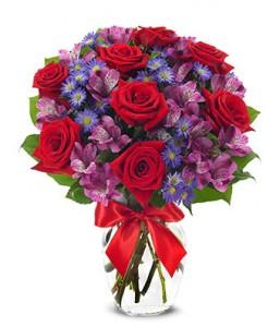 Royal Romance Vase Arrangment
