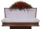 Royal Rose Full Casket Spray