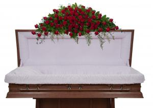 Royal Rose Full Casket Spray  in Vinton, VA | CREATIVE OCCASIONS EVENTS, FLOWERS & GIFTS