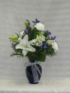 Royal Splendor vase arrangment