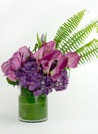 royalty Purple One sides arrangement
