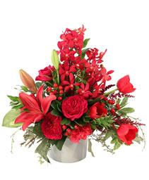 Ruby Allure Floral Design