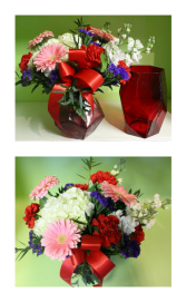Ruby Jewel of Love Fresh cut arrangement