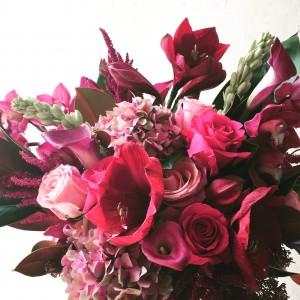 Ruby Luxe Vase Arrangement