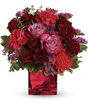 Ruby Rapture Bouquet in Jasper, TX | BOBBIE'S BOKAY FLORIST
