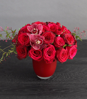 Ruby Red Heart   in Oakville, ON | ANN'S FLOWER BOUTIQUE-Wedding & Event Florist