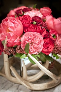 Luxe Ruby Red Arrangement