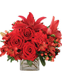 Ruby Rhythm Floral Design
