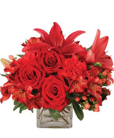 Ruby Rhythm Floral Design