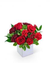 Ruby Road Flower Arrangement