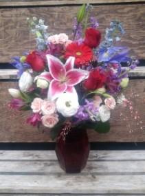 Ruby Romance Bouquet VA2
