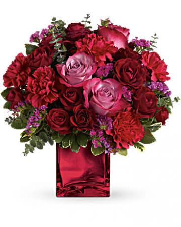Ruby's Rapture Bouquet Valentine's Day