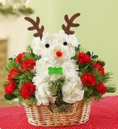 Rudolph The Red-Nose Pup a-DOG-able