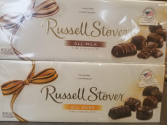 Russell Stover 24 oz. Dark or Milk Chocolate Box