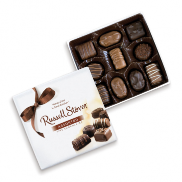 Russell Stover Assorted Chocolate - Medium 5.5 oz. Gourmet Food