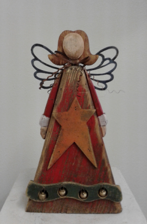 Rustic Angel Wooden