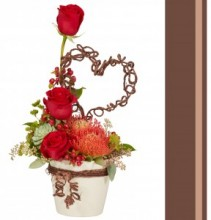 Rustic Beauty  Romantic Floral Design