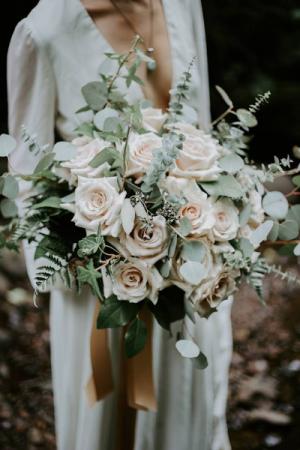 Rustic Blush Bridal Bouquet Bridal Bouquet in Tillamook, OR | ANDERSON FLORIST