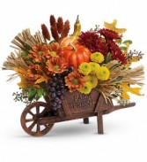 Rustic Charm Fresh Arrangement