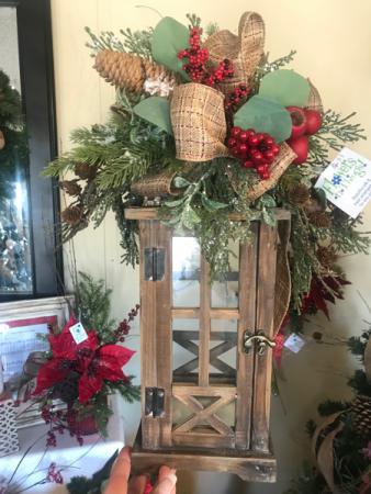 Rustic Charm Rustic Christmas Deco Lantern