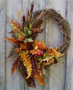 Rustic Charm Wreath Faux Flowers on Grapevine in Monument, CO   ENCHANTED FLORIST