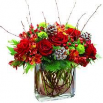 Rustic Christmas Bouquet