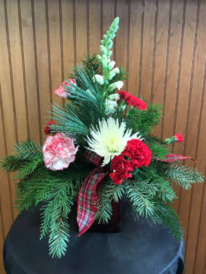 Rustic Christmas Bouquet  in Yankton, SD | Pied Piper Flowers & Gifts
