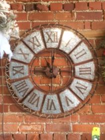 Rustic clock Home decor