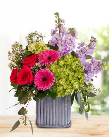 RUSTIC ELEGANCE Vase arrangement