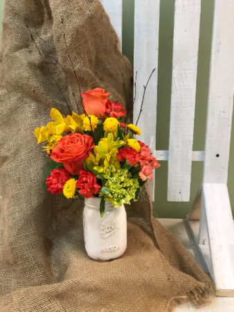 RUSTIC FARMHOUSE  ARRANGEMENT