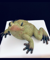 Rustic Frog Frog Decor