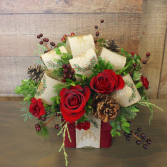 Rustic Gift Box Arrangement **Local Delivery Only**