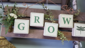 Rustic Grow Sign Gift