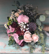 Rustic Hantied Bouquet