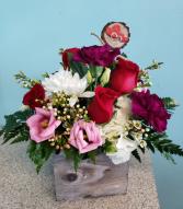 Rustic Heart Bouquet