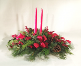 Rustic Holiday Traditions  Centerpiece