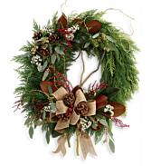 Rustic Holiday TWR15-3B Wreath