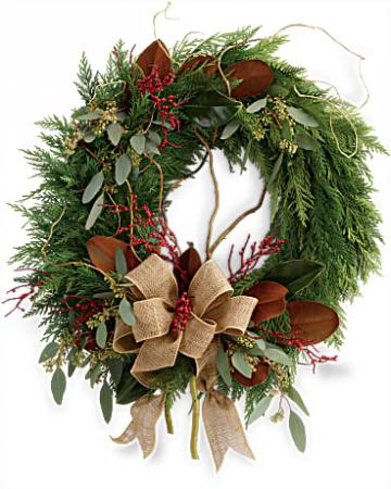 Rustic Holiday Wreath