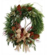 Rustic Holiday Wreath TWR15-3A
