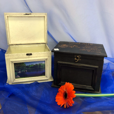 Rustic keepsake box Personalized engraved gift