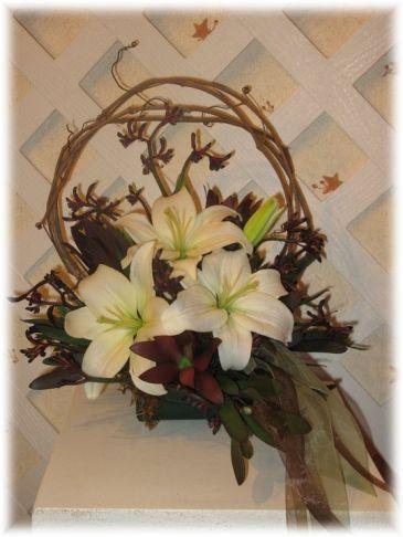 Rustic Lilies Buds 'n Bows Original Design