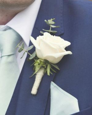 RUSTIC MINIMALISM  Prom Boutonniere  in Biloxi, MS | Rose's Florist